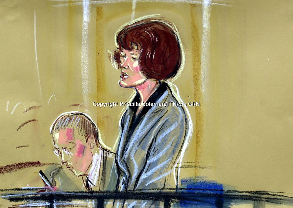 ©PRISCILLA COLEMAN ITV NEWS.SUPPLIED BY PHOTONEWS SERVICELTD .PIC SHOWS MAXINE CARR APPEARING AT NOTTINGHAM CROWN COURT WHERE SHE PLEADED GUILTY TO BENEFITS FRAUD AND LYING ON A JOB APPLICATION FORM..SEE STORY