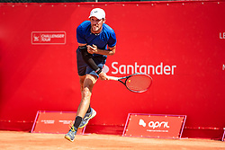 October 4, 2018 - Campinas, Brazil - CAMPINAS, SP - 04.10.2018: ATP CHALLENGER CAMPINAS - Fabrizio Ornago (ITA) in a match that will be played in the last quadrennial of the ATP Challenger in Campinas, held in this city of the interior of São Paulo, this Thursday (4), in the Park of the Horsemanship Society of Campinas. (Credit Image: © Fabio Leoni/Fotoarena via ZUMA Press)
