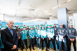Simon Jan of Cross country team during press conference of Slovenian Nordic Ski team before new season 2017/18, on November 14, 2017 in Gorenje, Ljubljana - Crnuce, Slovenia. Photo by Vid Ponikvar / Sportida