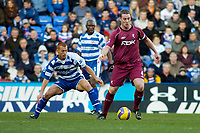 Photo: Gareth Davies.<br />Reading v Bolton Wanderers. The Barclays Premiership. 02/12/2006.<br />Bolton Captain Kevin Nolan (R) keeps the ball away from the Reading midfielder Steve Sidwell (L).