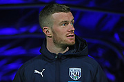 Chris Brunt before the EFL Sky Bet Championship match between West Bromwich Albion and Stoke City at The Hawthorns, West Bromwich, England on 20 January 2020.