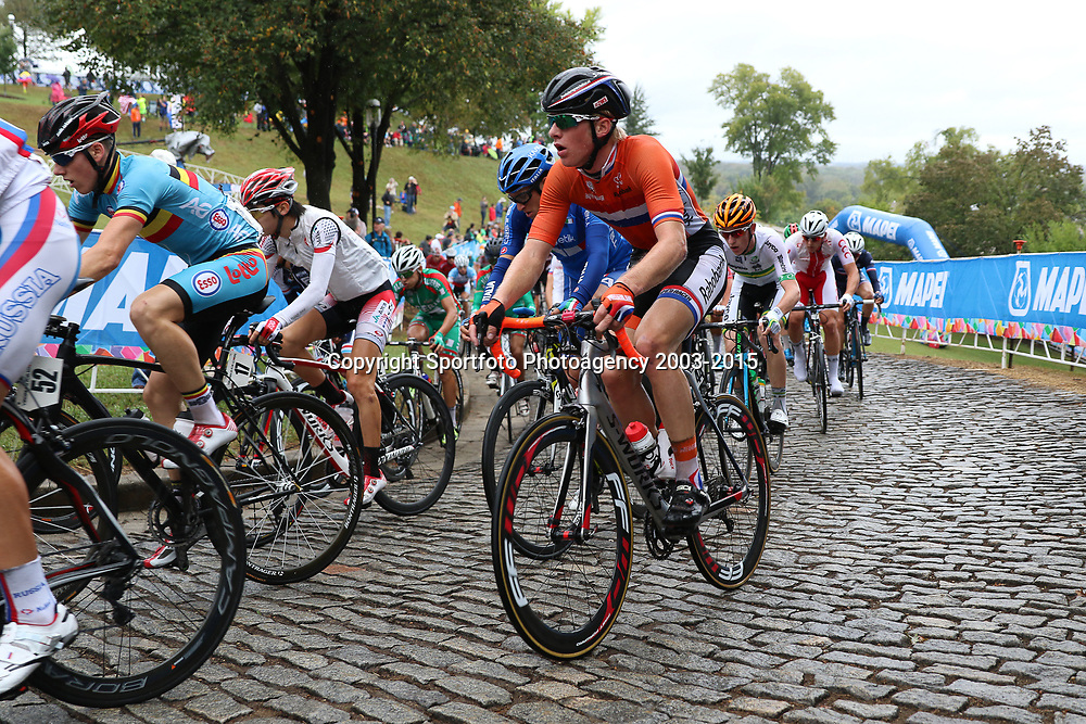 RICHMOND (USA) wielrennen<br /> Maarten Kooistra tijdens de wedstrijd voor junioren op het WK wielrennen in Richmond