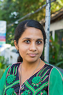 &ndash; Den h&auml;r tempelf&ouml;rest&aring;ndaren vet inte vad han snackar om. Han f&ouml;rol&auml;mpar oss. Vi &auml;r inte orena, s&auml;ger mediestudenten och kvinnor&auml;ttsaktivisten Karthika Nair n&auml;r vi m&ouml;ter henne &ouml;ver en kaffe latte i turistkvarteren i Fort Kochin i Kerala. <br /> <br /> Women's rights activist and media student Karthika Nair, Kerala, India.<br /> <br /> Copyright 2016 Christina Sj&ouml;gren, All Rights Reserved