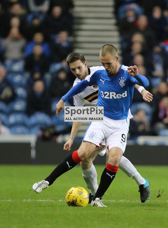 Kenny miller in action during the Rangers v Dumbarton  Scottish Championship  1 December 2015 <br /> <br /> (c) Andy Scott | SportPix.org.uk