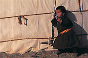 Nomads child<br /> Gobi Desert<br /> Mongolia