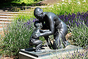 Statue of mother and child, Vienna, Austria