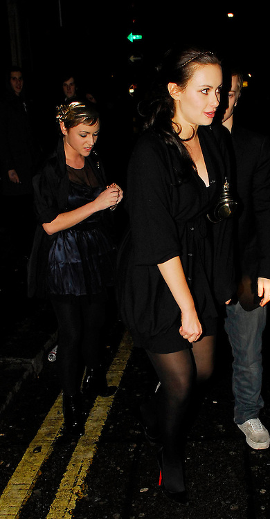 22.NOVEMBER.2007. LONDON<br /> <br /> JAIME WINSTONE AND CAMILLA AL-FAYED LEAVING PUNK NIGHTCLUB.<br /> <br /> BYLINE: EDBIMAGEARCHIVE.CO.UK<br /> <br /> *THIS IMAGE IS STRICTLY FOR UK NEWSPAPERS AND MAGAZINES ONLY*<br /> *FOR WORLD WIDE SALES AND WEB USE PLEASE CONTACT EDBIMAGEARCHIVE - 0208 954 5968*