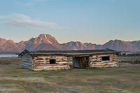 Historic Cunningham Ranch cabin, Grand Teton National Park Wyoming