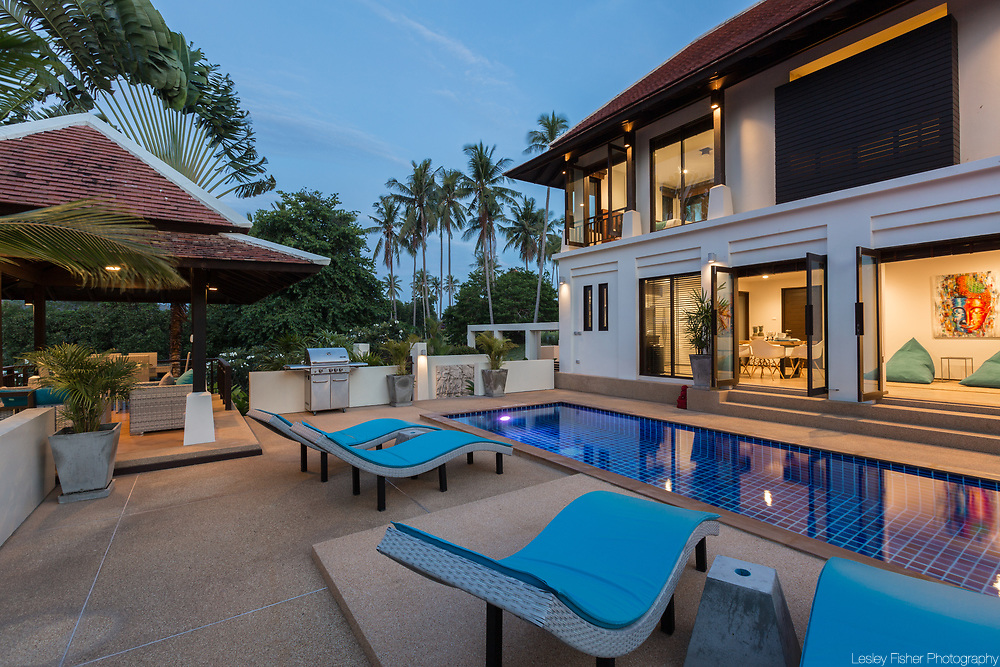 Villa Divina, a private and luxury 3 bedroom villa located in Plumeria Place, a private residence in Bang Rak, Koh Samui, Thailand