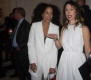 ANAIS FERRIER, MONICA FERNANDEZ TARANCO, Opening of Galerie Thaddaeus Ropac London, Ely House, 37 Dover Street.. Mayfair. London. 26 April 2017.