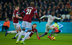LONDON, ENGLAND - Monday, February 4, 2019: Liverpool's Naby Keita during the FA Premier League match between West Ham United FC and Liverpool FC at the London Stadium. (Pic by David Rawcliffe/Propaganda)