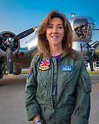 Formal Navy aviator and Southwest Airlines Captain Tammie Jo Shults.<br />