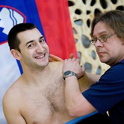 20091227: Handball - Practice of Slovenian Men National Team in Podcetrtek