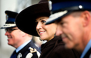 QUEEN MAXIMA OPENS MILITAIRY BASE NEAR SCHIPOL