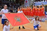 DESCRIZIONE : Schio Nazionale Italia Femminile Qualificazione Europeo Femminile 2017 Italia Montenegro Italy Montenegro<br /> GIOCATORE : montenegro<br /> CATEGORIA : inno nazionale<br /> SQUADRA : Italia Italy<br /> EVENTO : Qualificazione Europeo Femminile 2017<br /> GARA : Italia Montenegro Italy Montenegro<br /> DATA : 20/02/2016 <br /> SPORT : Pallacanestro<br /> AUTORE : Agenzia Ciamillo/M.Gregolin<br /> Galleria : FIP Nazionali 2016<br /> Fotonotizia : Schio Nazionale Italia Femminile Qualificazione Europeo Femminile 2017 Italia Montenegro Italy Montenegro