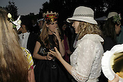Stephen Jones Summer Hat party to celebrate 25 years of Milllinery. Debenham House, 8 Addison Rd. Holland Park, London. 13 July 2006.  ONE TIME USE ONLY - DO NOT ARCHIVE  © Copyright Photograph by Dafydd Jones 66 Stockwell Park Rd. London SW9 0DA Tel 020 7733 0108 www.dafjones.com