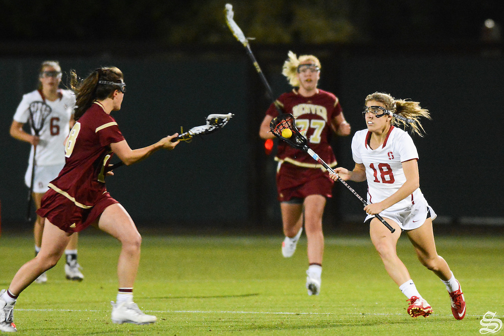 Freshman midfielder Julia Massaro (18) . Photo by Sam Girvin.