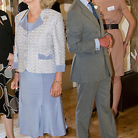 Worcester England June 10th  TRH The Princed of Wales and the Duchess of Cornwall visits the Commandery as part of their visit to Worcestershire.