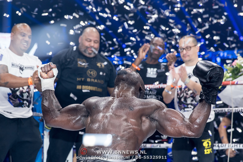 NLD/Almere/20171029 - Finale Spiike presents: WFL - Final 16, winnaar Melvin Manhoef