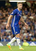 Football - 2016/2017 Premier League - Chelsea V West Ham United. <br /> <br /> Gary Cahill of Chelsea at Stamford Bridge.<br /> <br /> COLORSPORT/DANIEL BEARHAM