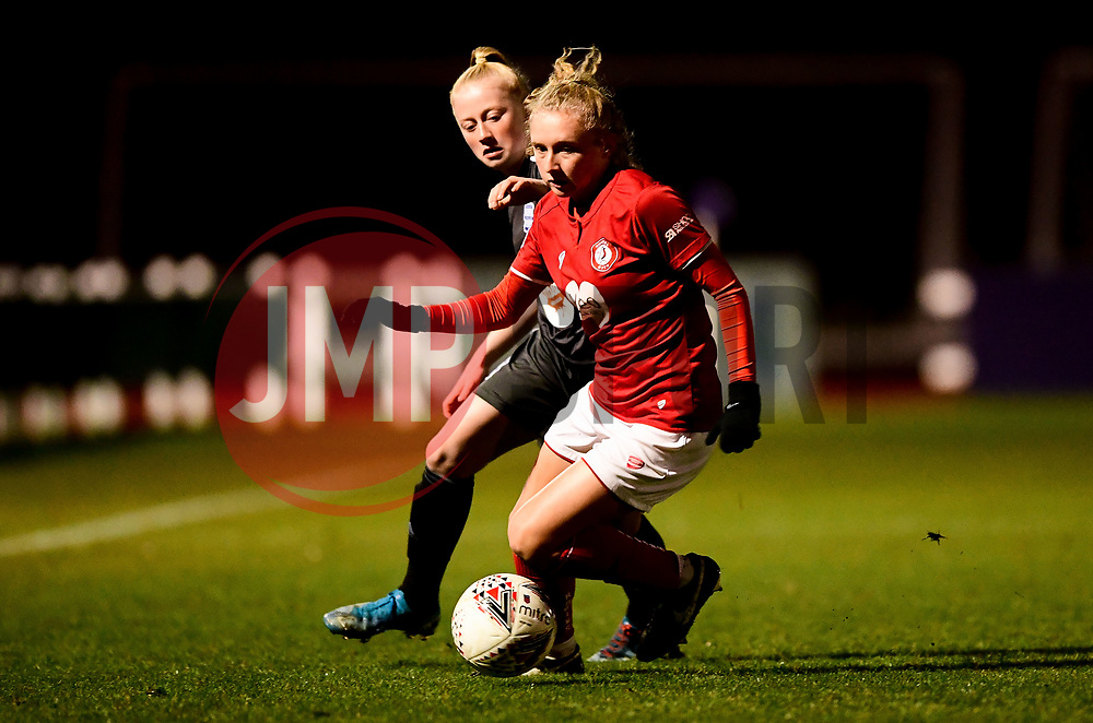 Katie Robinson of Bristol City - Mandatory by-line: Ryan Hiscott/JMP - 08/12/2019 - FOOTBALL - Stoke Gifford Stadium - Bristol, England - Bristol City Women v Birmingham City Women - Barclays FA Women's Super League