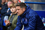 Ipswich Town Manager Paul Hurst  before the EFL Sky Bet Championship match between Ipswich Town and Bolton Wanderers at Portman Road, Ipswich, England on 22 September 2018.
