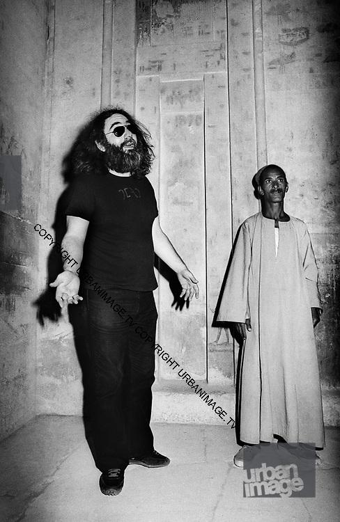 Jerry Garcia at Saqqara - The Grateful Dead – Egypt 1978