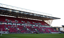 Over 1100 supporters at Ashton Gate for WSL season opener - Mandatory by-line: Paul Knight/JMP - 22/04/2017 - FOOTBALL - Ashton Gate - Bristol, England - Bristol City Women v Reading Women - FA Women's Super League 1 Spring Series