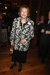 LADY ANTONIA FRASER at the Orion Authors Party held at the Royal Opera House, Covent Garden, London on 11th February 2008.<br />