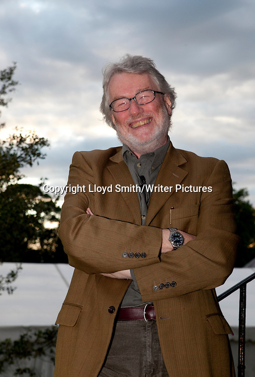Iain Banks, Scottish writer at the Borders Book Festival 2012<br /> Harmony House in Melrose, The Scottish Borders<br /> <br /> pictures by Lloyd Smith/Writer Pictures