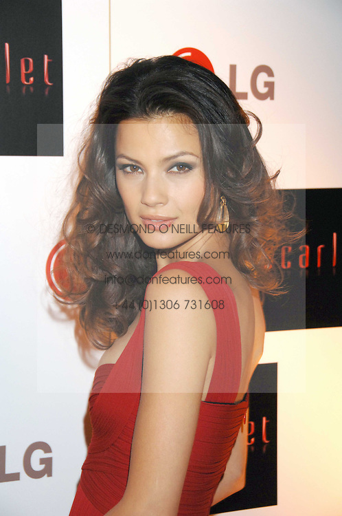 NATASSIA MALTHE at the Scarlet TV Launch Party -  a new series of flat panel LCD televisons from LG electronics held at the refurbished church, 1 Marylebone, London on 30th April 2008.<br />