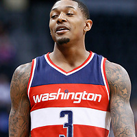 08 March 2017: Washington Wizards guard Bradley Beal (3) is seen during the Washington Wizards 123-113 victory over the Denver Nuggets, at the Pepsi Center, Denver, Colorado, USA.