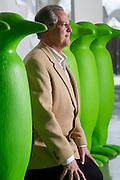 Emmanuel Gardinier, manager of 21c Museum Hotel, on Monday, February 10, 2014, in Bentonville, Arkansas.