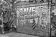 South bank, graffiti theme park, Save South bank campaing, London photo@Antonio Nodar/Imagenes Libres