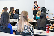 Joanne Moore, Program Director during the first event of the Mihaylo College of Business and Economics Women's Leadership Program at California State University Fullerton  on Friday, Nov. 6, 2015 in Fullerton, California.