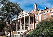 Park Hall on the University of Georgia campus, Athens, Georgia, USA