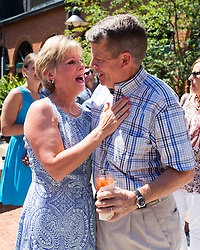 Tom Matthews celebrates his 60th Birthday as a surprise, Sunday, June 28, 2015 at UK Boone Center  in Lexington.