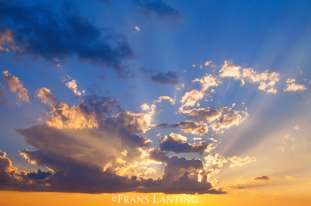 Evening clouds, Okavango Delta, Botswana