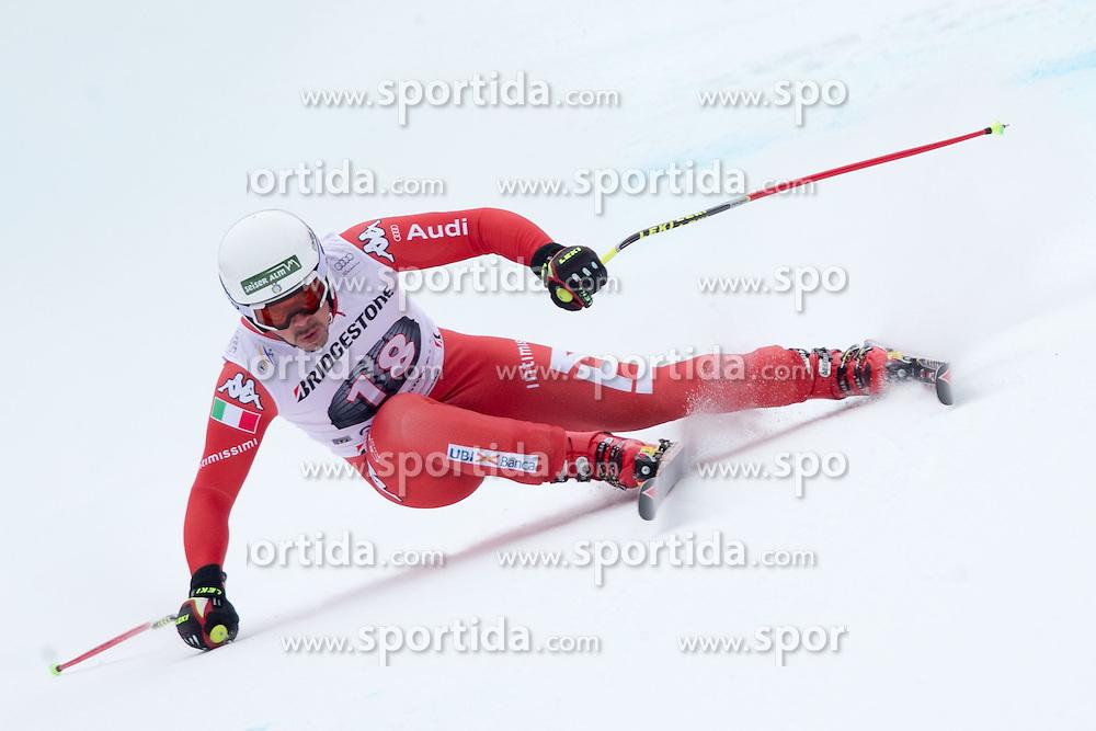 27.02.2015, Kandahar, Garmisch Partenkirchen, GER, FIS Weltcup Ski Alpin, Abfahrt, Herren, 2. Training, im Bild Peter Fill (ITA) // Peter Fill of Italy in action during the 2nd trainings run for the men's Downhill of the FIS Ski Alpine World Cup at the Kandahar course, Garmisch Partenkirchen, Germany on 2015/27/02. EXPA Pictures © 2015, PhotoCredit: EXPA/ Johann Groder