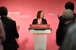 Scottish Labour leader Kezia Dugdale launches the Scottish Labour manifesto for the General Election while on a visit to the Grassmarket Community Project in Edinburgh.<br /> <br /> © Dave Johnston/ EEm