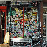 East Village music shop