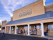 13 FEBRUARY 2011 - PHOENIX, AZ: A Borders Books and Music store in Phoenix, AZ, Sunday, Feb. 13. Several business news organizations have reported that Borders Group, the second largest US chain of bookstores, may file for bankruptcy protection as soon as the week of February 14. Borders sales have been hurt by the US economic downturn and the increasing shift to digital media away from traditional media, like books, magazines, music CDs and movie DVDs. Borders has also been slow to move to digital reading devices, like their own Kobo and competitors' Nook and Kindle devices. Borders operates more than 650 bookstores across the US and may close between 150 and 200 of them during their reorganization. In January 2011, Borders group delayed payments to publishers as part of an effort to restructure its financing and avoid a cash shortfall.        Photo by Jack Kurtz