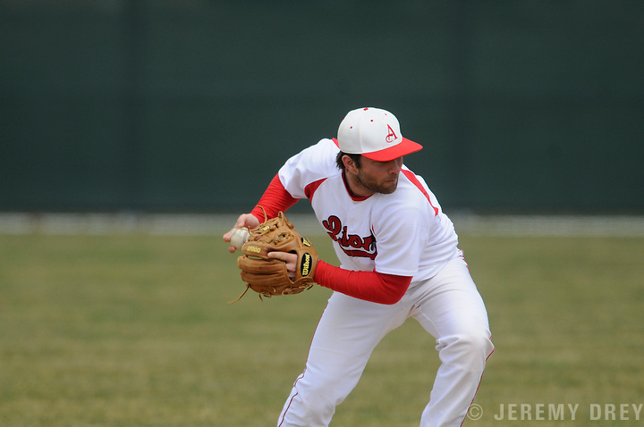 BASEBALL Albright College Lions beat the Messiah College Falcons 2-1 at Kelchner Field, Reading.