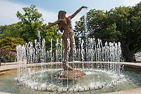 Fountain Sculpture in Clifton Gaslight