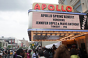 14 June 2010- Harlem, New York- Atmosphere at The Apollo Theater's 2010 Spring Benefit and Awards Ceremony hosted by Jamie Foxx inducting Aretha Frankilin and Michael Jackson, and honoring Jennifer Lopez and Marc Anthony co- sponsored by Moet et Chandon which was held at the Apollo Theater on June 14, 2010 in Harlem, NYC. Photo Credit: Terrence Jennngs/Sipa