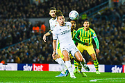 Leeds United midfielder Kalvin Phillips (23) during the EFL Sky Bet Championship match between Leeds United and West Bromwich Albion at Elland Road, Leeds, England on 1 October 2019.