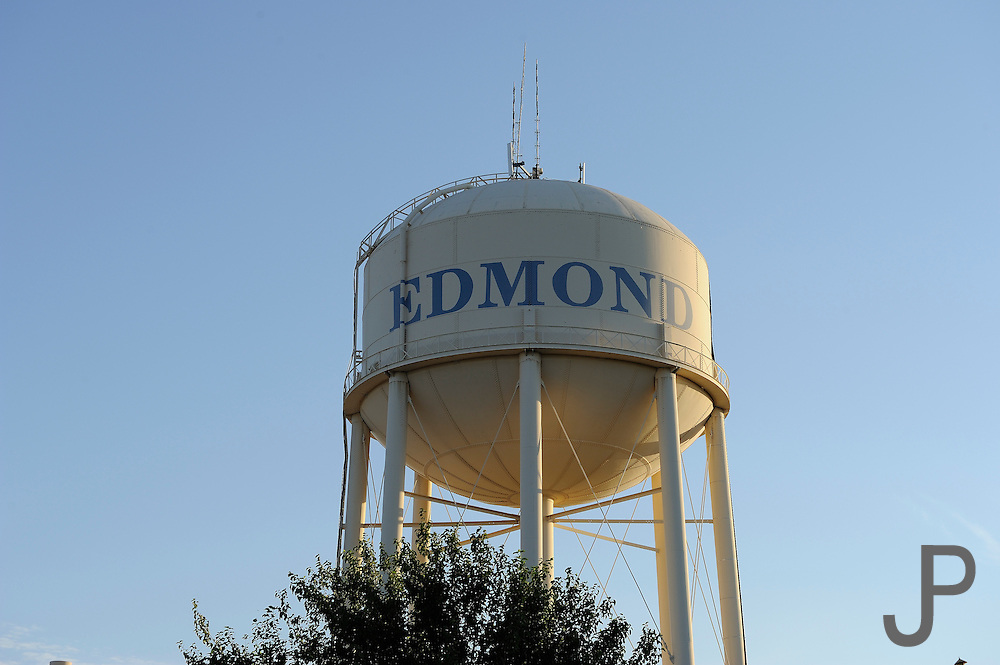 Edmond, Oklahoma water tower near UCO campus