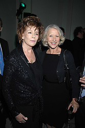 Left to right, EDNA O'BRIEN and DAME HELEN MIRREN  at the Orion Publishing Groups Authors party held at the V&A museum, Cromwell Road, London on 15th February 2007.<br /><br />NON EXCLUSIVE - WORLD RIGHTS