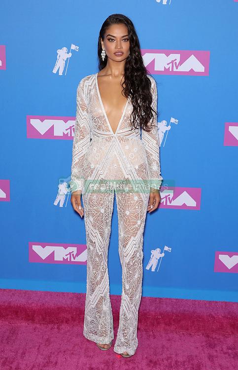 August 21, 2018 - New York City, New York, USA - 8/20/18.Shanina Shaik at the 2018 MTV Video Music Awards held at Radio City Music Hall in New York City..(NYC) (Credit Image: © Starmax/Newscom via ZUMA Press)