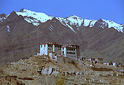 Stakna Monastery or Gompa is a Buddhist monastery of the Drugpa sect near Leh Ladakh